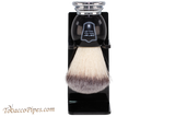 Parker BCSY Black Synthetic Shave Brush & Stand