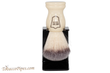 Parker WHSY White Synthetic Shave Brush & Stand