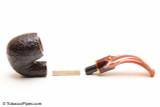 Savinelli Roma Rustic 614 Lucite Stem Tobacco Pipe Apart