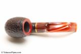 Savinelli Roma Rustic 614 Lucite Stem Tobacco Pipe Top