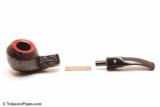 Savinelli Roma 623 Black Stem Tobacco Pipe Apart