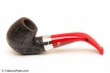 Peterson Dracula 221 Sandblast Fishtail Tobacco Pipe Left Side