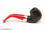 Peterson Dracula 221 Sandblast Fishtail Tobacco Pipe Right Side