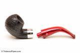 Peterson Dracula 03 Sandblast Fishtail Tobacco Pipe Apart