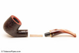 Savinelli Roma Rustic 622 KS Lucite Stem Tobacco Pipe Apart
