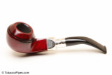 Peterson Spigot Red Spray 80S Smooth Tobacco Pipe Fishtail Left Side