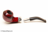 Peterson Spigot Red Spray 80S Smooth Tobacco Pipe Fishtail Apart