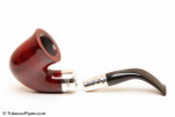 Peterson Spigot Red Spray 05 Smooth Tobacco Pipe Fishtail Apart