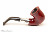 Peterson Spigot Red Spray 05 Smooth Tobacco Pipe Fishtail Right Side