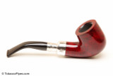 Peterson Spigot Red Spray 01 Smooth Tobacco Pipe Fishtail Right Side