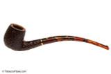 Savinelli Clarks Favorite Brownblast Tobacco Pipe Left Side