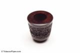 Falcon Hyperbole Rustic Tobacco Pipe Bowl Back