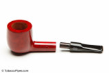 Chacom Reybert 81 Red Smooth Tobacco Pipe Apart