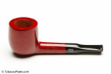 Chacom Reybert 81 Red Smooth Tobacco Pipe Left Side