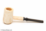 Missouri Meerschaum Diplomat 5th Ave Corncob Tobacco Pipe Straight Left Side