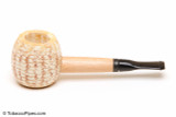 Missouri Meerschaum Mini Morgan Black Stem Corncob Tobacco Pipe Left Side