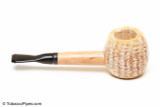 Missouri Meerschaum Mini Morgan Black Stem Corncob Tobacco Pipe Right Side