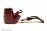 Peterson Spigot Red Spray 306 Smooth Tobacco Pipe Fishtail Apart