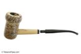 Missouri Meerschaum Patriot Corncob Tobacco Pipe Bent Apart