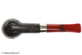 Peterson Dracula X105 Sandblast Fishtail Tobacco Pipe Bottom