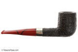 Peterson Dracula X105 Sandblast Fishtail Tobacco Pipe Right Side