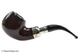 Peterson Spigot Red Spray XL02 Smooth Tobacco Pipe Fishtail Left Side