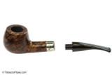 Peterson Aran 408 Tobacco Pipe - Fishtail Apart