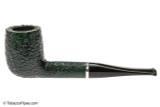 Savinelli Arcobaleno 111 Green Tobacco Pipe - Rustic Left Side