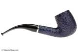 Savinelli Arcobaleno 606 Blue Tobacco Pipe - Rustic Right Side