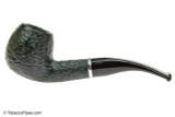 Savinelli Arcobaleno 626 Green Tobacco Pipe - Rustic Left Side