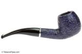 Savinelli Arcobaleno 626 Blue Tobacco Pipe - Rustic Right Side