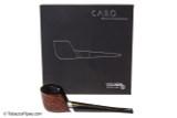 Vauen Caro 3 Tobacco Pipe - Rusticated