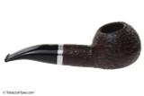 Savinelli Bianca 320 Tobacco Pipe - Rusticated Right Side