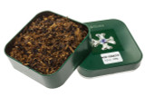Sillem's Green Pipe Tobacco Tin - 100g Unsealed