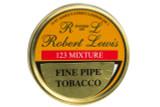 Robert Lewis 123 Mixture Pipe Tobacco Tin - 50g Front