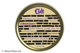 Cult Conspiracy Pipe Tobacco Tin Front