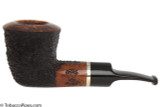 OMS Pipes Dublin Tobacco Pipe - Silver Band Left Side