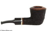 OMS Pipes Dublin Tobacco Pipe - Silver Band Right Side