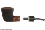 OMS Pipes Dublin Tobacco Pipe - Silver Band Apart