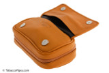 Rattray's 2 Pipe Leather Bag - Natural Inside 1