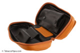 Rattray's 2 Pipe Leather Bag - Natural Inside 2
