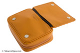 Rattray's 3 Pipe Leather Bag - Natural Inside 1