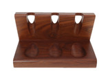 Wooden 3 Pipe Solid Tobacco Pipe Stand