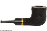 OMS Pipes Billiard Tobacco Pipe - Brass Band Right Side