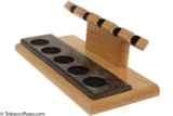 Neal Yarm Oak and Black Palm 5-Pipe Stand Side