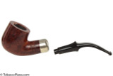 Peterson Standard Smooth 301 Tobacco Pipe Fishtail Apart