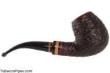 Lorenzetti Nero 24 Tobacco Pipe - Bent Billiard Rustic Right Side