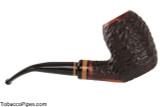 Lorenzetti Nero 27 Tobacco Pipe - Bent Egg Rustic Right Side