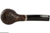 Brebbia Cappuccio Sabbiata 601 Tobacco Pipe - Rustic Bottom