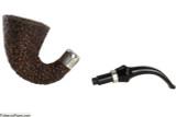 Brebbia First Calabash Plum Tobacco Pipe - Rustic Apart